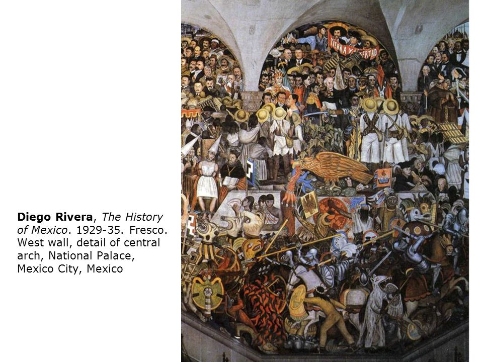 The mexican mural movement ppt download for Diego rivera mural 1929