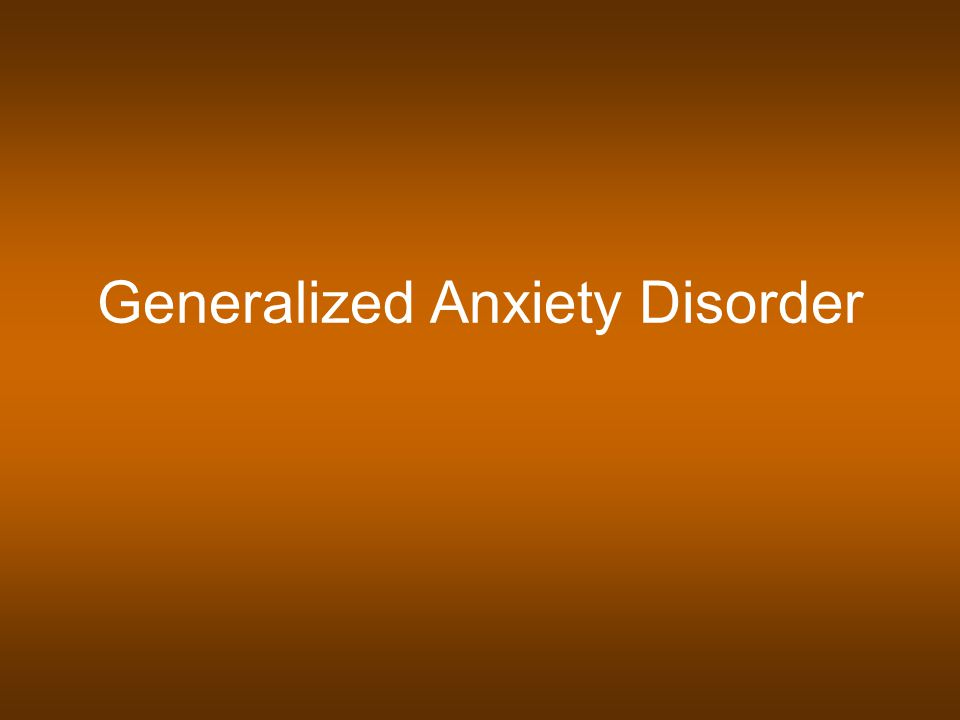 Recent years have seen a neardoubling of the number of studies examining the effects of psychotherapies for generalized anxiety disorder GAD in adults