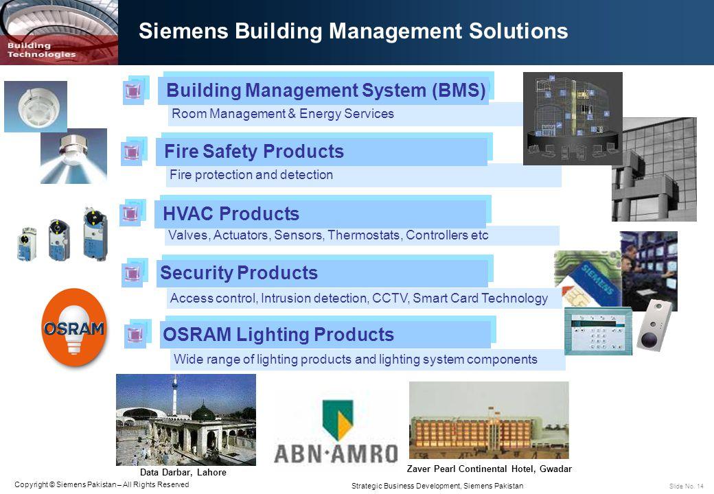 Siemens Building Management Solutions