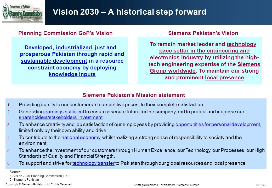 Vision 2030 – A historical step forward