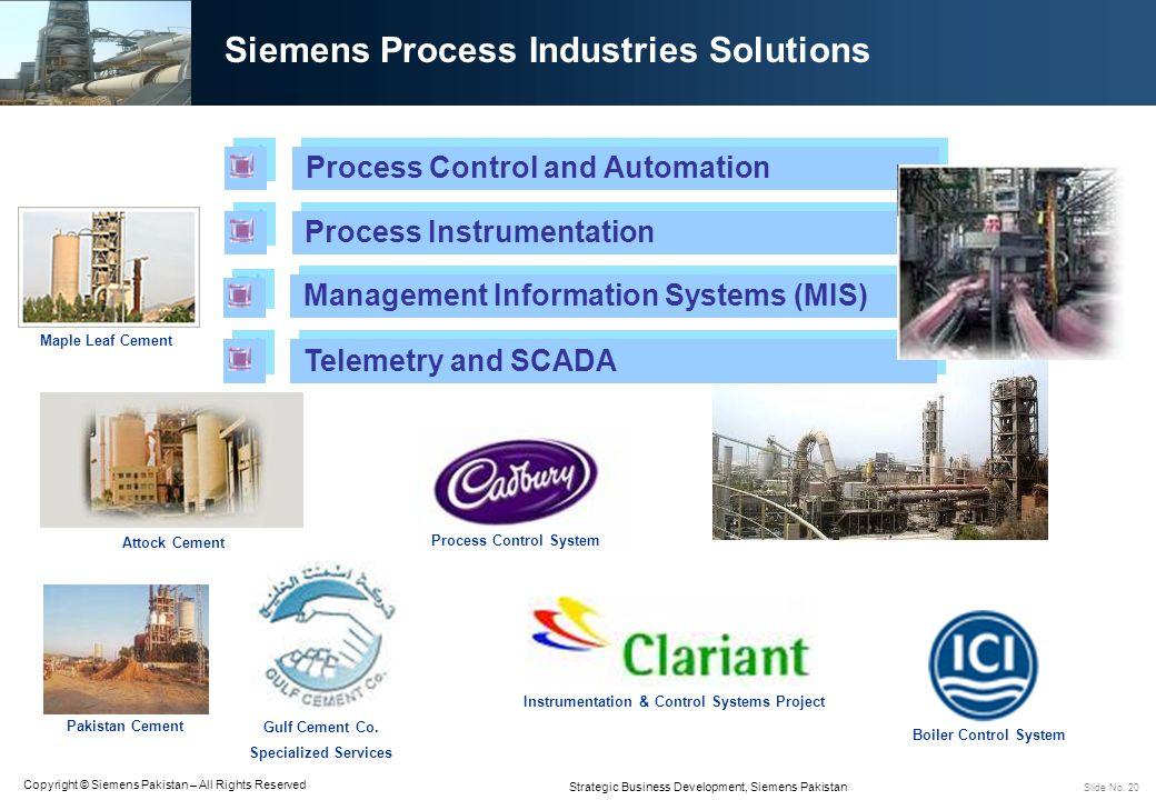 Siemens Process Industries Solutions