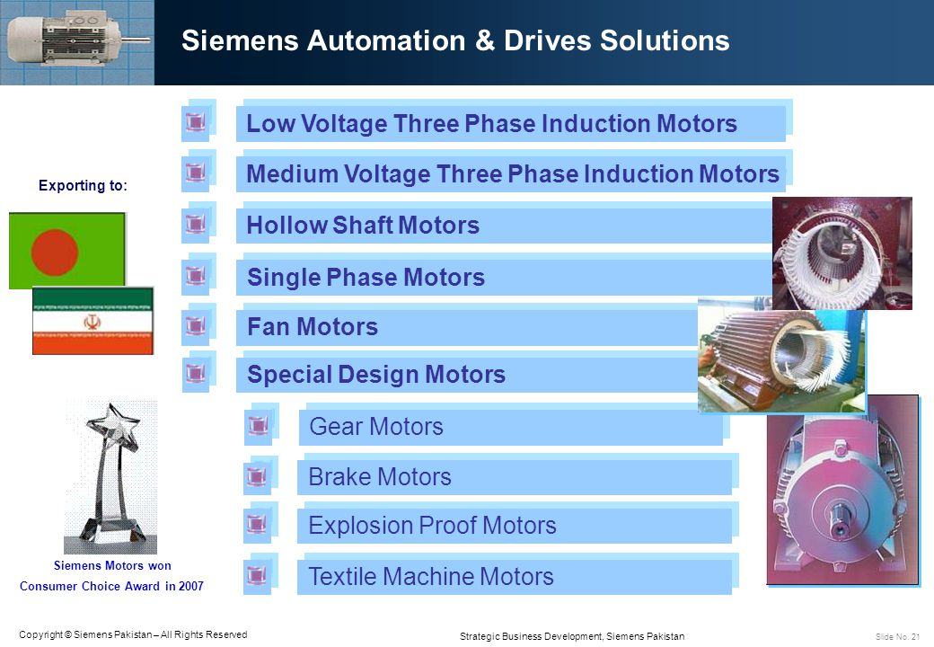 Siemens Automation & Drives Solutions