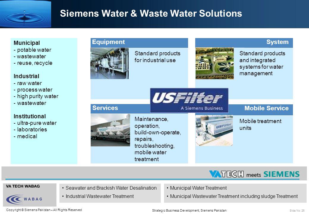 Siemens Water & Waste Water Solutions