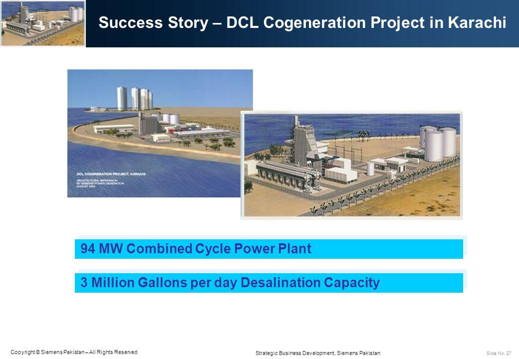 Success Story – DCL Cogeneration Project in Karachi