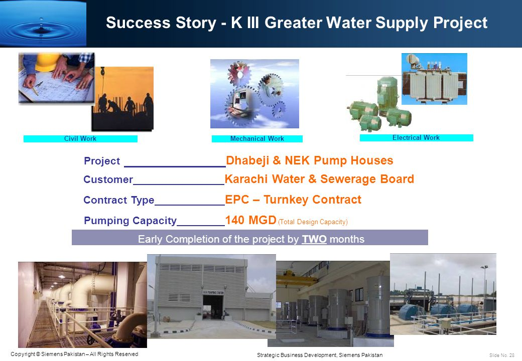 Success Story - K III Greater Water Supply Project