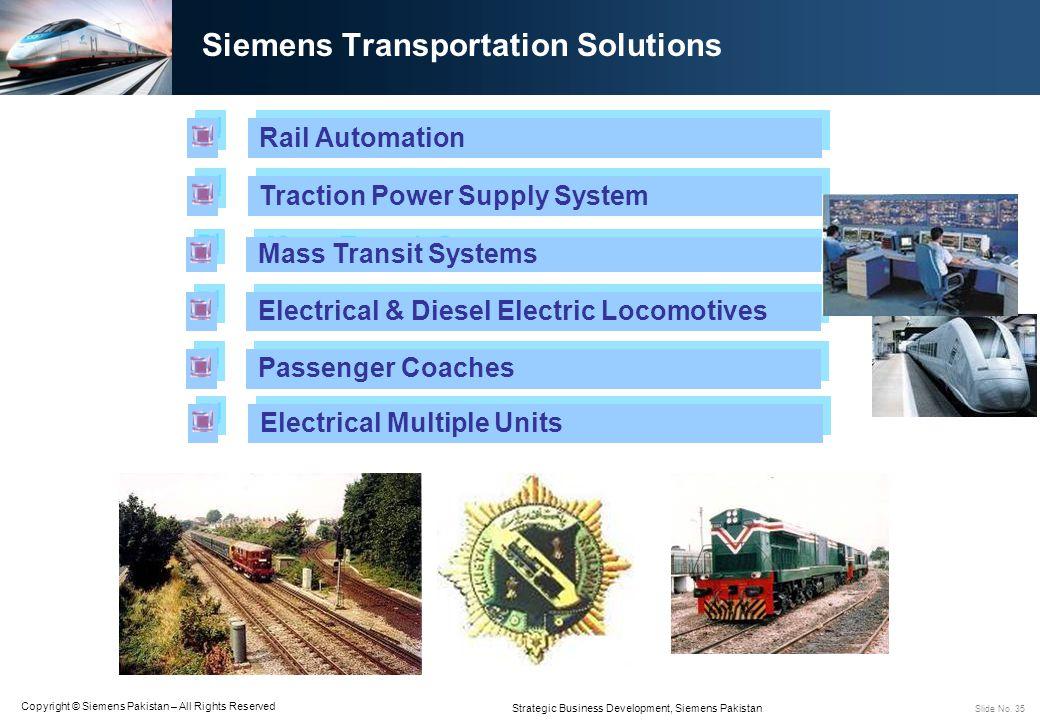 Siemens Transportation Solutions