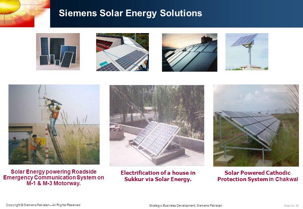 Siemens Solar Energy Solutions
