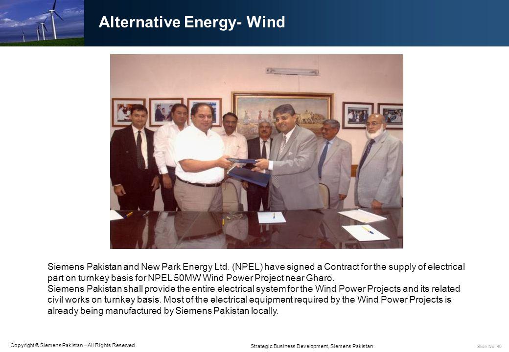 Alternative Energy- Wind