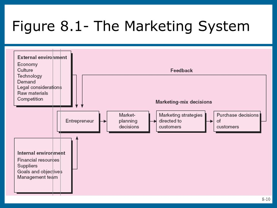 Figure 8.1- The Marketing System