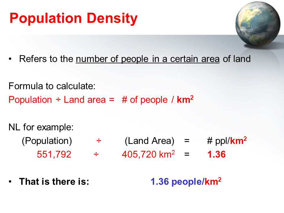 Unit 6 Population Distribution & Growth - ppt download