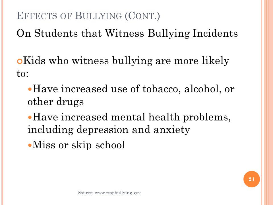 impact of bullying and interventions Wellness-based anti-bullying interventions which can promote adolescent girls' personal and social, academic,  factors have a long-lasting impact,.