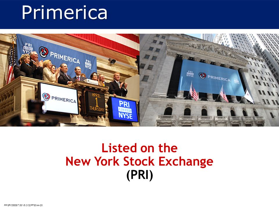 Listed on the New York Stock Exchange