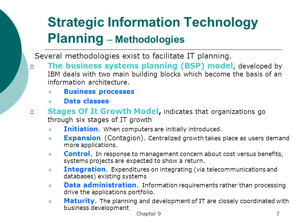 strategic planning and management through the application of computer technology An it strategic plan based on a shared vision with stakeholders is critical to any successful enterprise  sponsored by: ieee computer society.