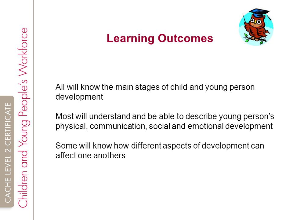 child and young person development tda Essay tda 21 child and young person development tda 21 child and young person development learning outcome 11 describe the expected pattern of children and young people's development.