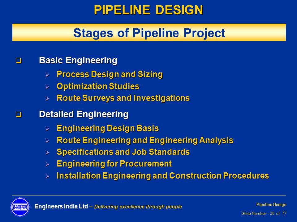 oil and gas pipeline design pdf