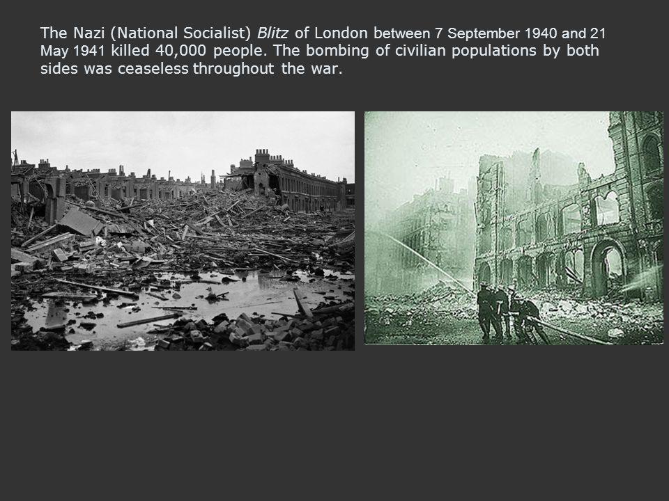 blitzkrigen i london