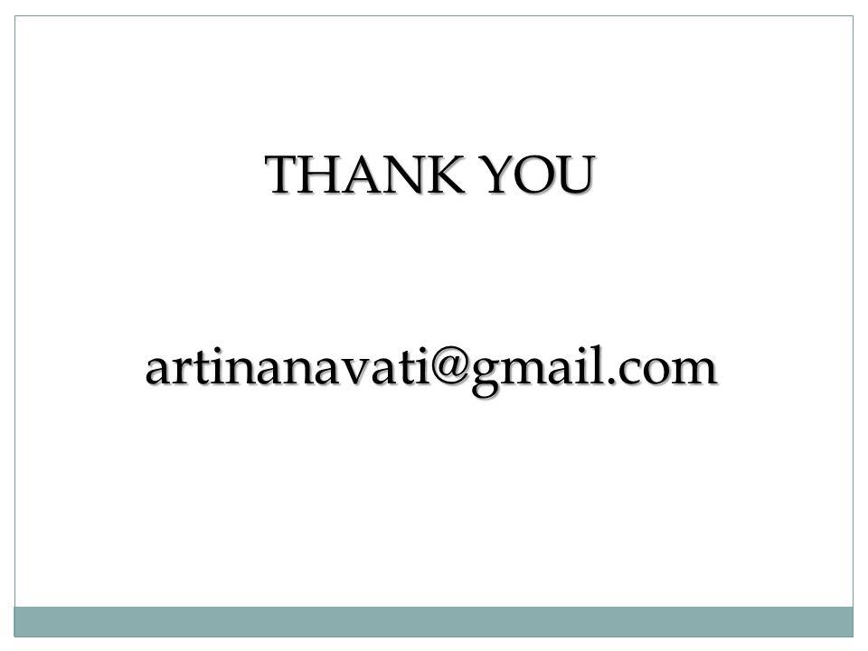 THANK YOU artinanavati@gmail.com