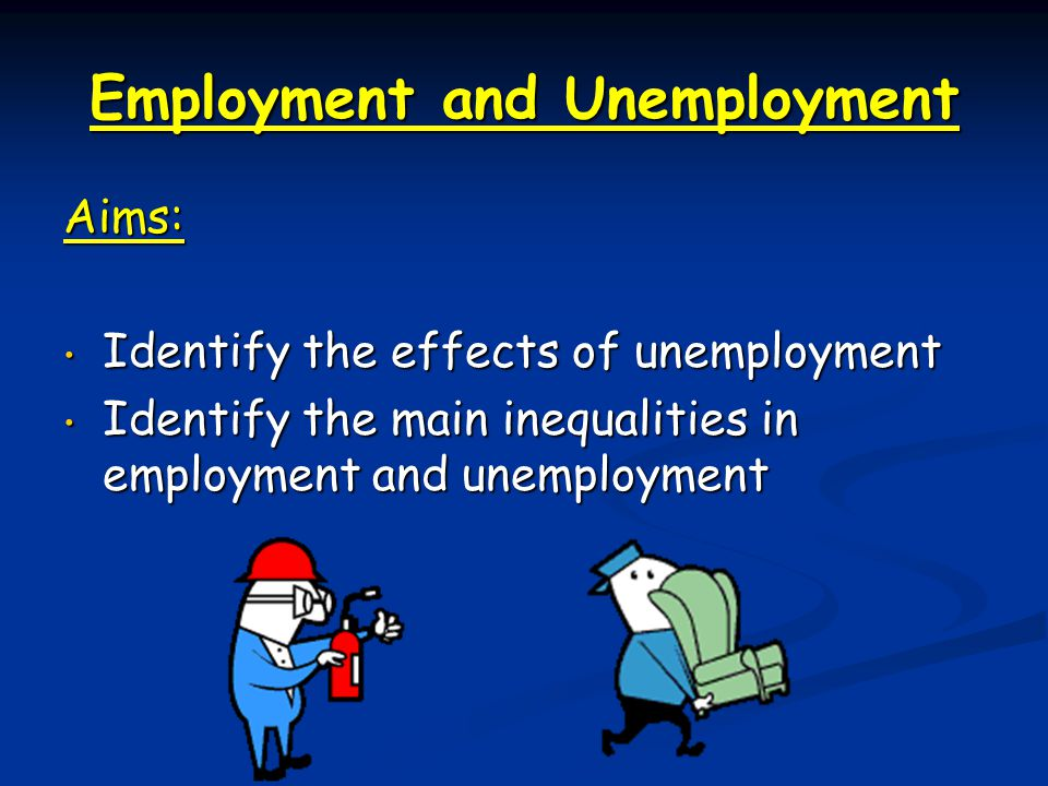 main causes and effects of unemployment Unemployment is caused when someone is laid off, fired, or quits, and is still  looking for a job here are the 7 main reasons for unemployment.