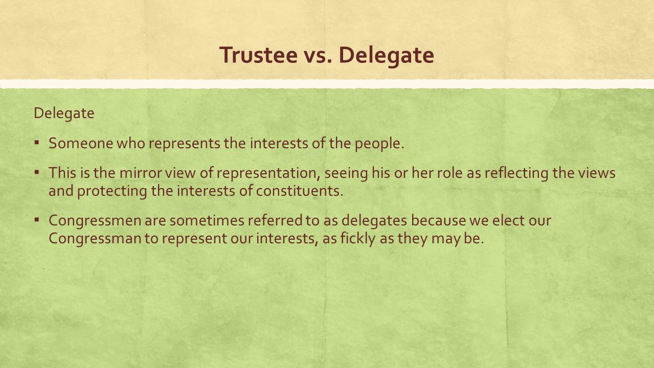 """trustee vs delagate What is the difference between a trustor and a trustee the trustor or """"grantor"""" of a trust is the person who creates the trust the trustor is the one who contributes property to the trust."""