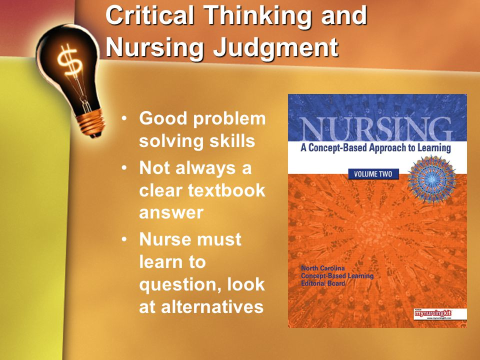 critical thinking in nursing research