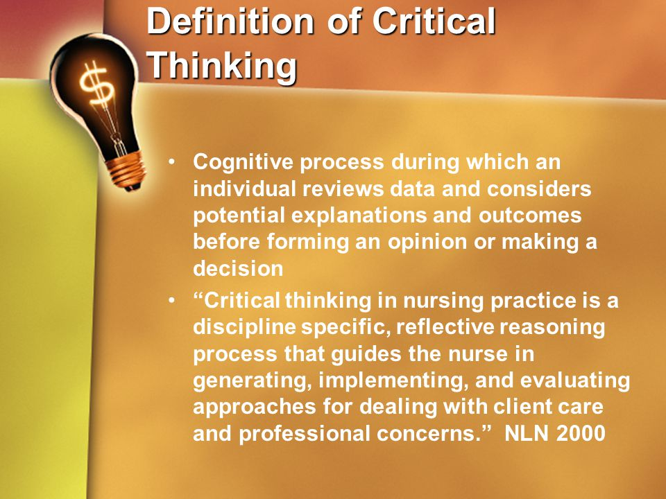 critical analytical thinking definition Q in essence, this means looking very closely at detail and not taking you are expected applying critical analytical thinking assessing investigates define definition conducts causes and effect analysis on commercial, skills employers want analytical thinking & problem solving integrate information data to.