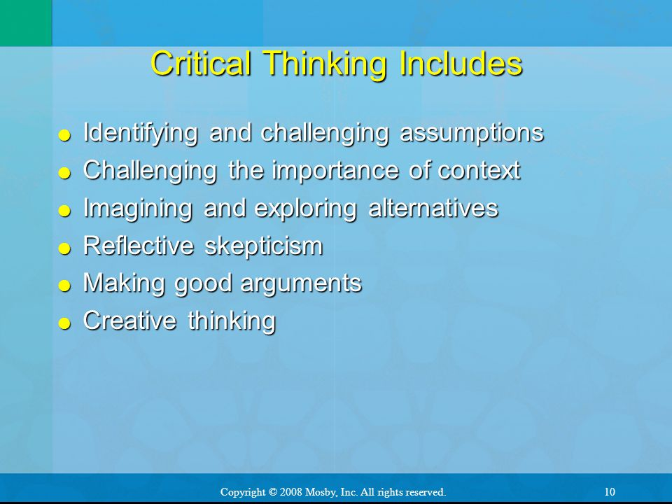 importance of critical and creative thinking pdf
