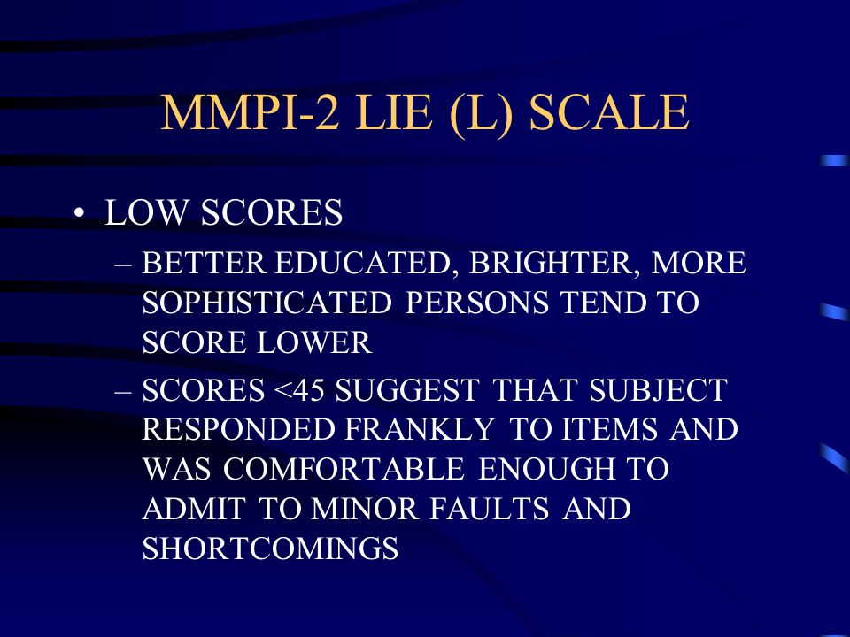 minnesota multiphasic personality inventory Featuring the latest research about the minnesota multiphasic personality inventory, the mmpi- 2, mmpi-a, and minnesota reports, including professor emeritus james n butcher's recommendations for their use in various settings.