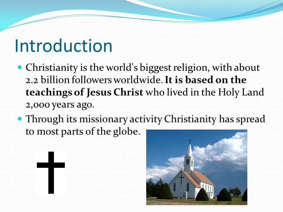 Facts About Christianity Ppt Video Online Download - Which religion has the most followers worldwide