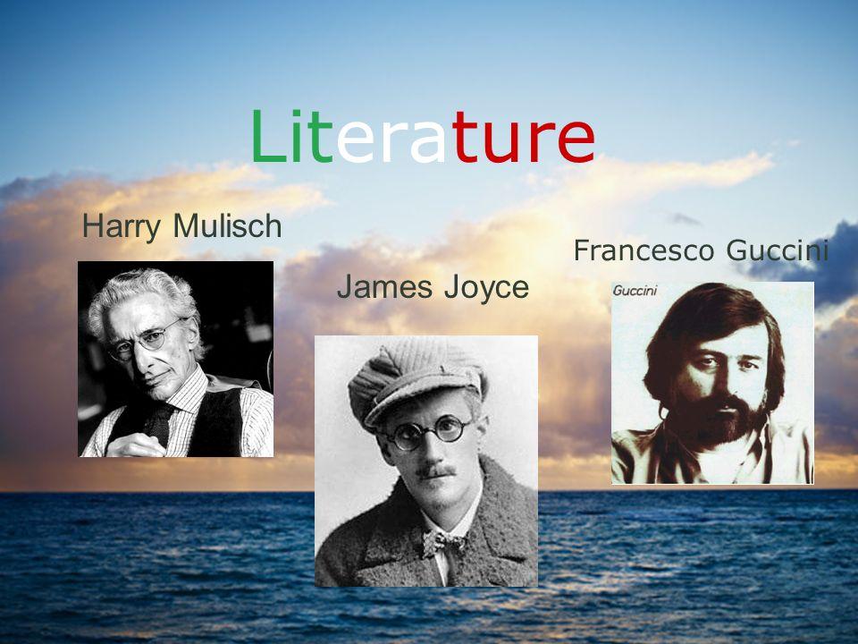 Literature Harry Mulisch Francesco Guccini James Joyce