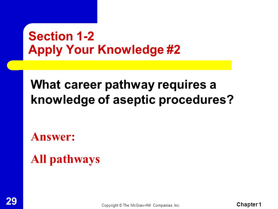 Section 1-2 Apply Your Knowledge #2