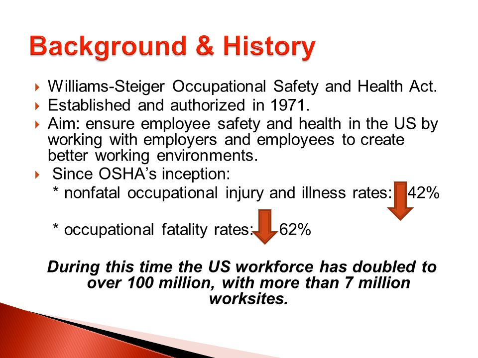occupational safety and health act pdf