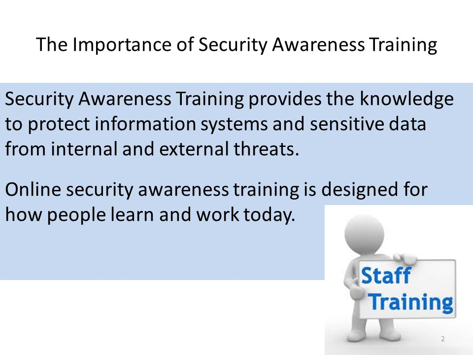 information security awareness presentation