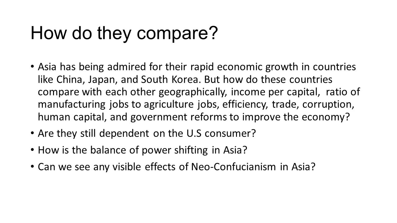 an analysis of the effects of confucianism on the growth of japan Title the pervading influence of neo- confucianism on the korean education system keywords: confucius and mencius, korean education, filial piety, post imf.