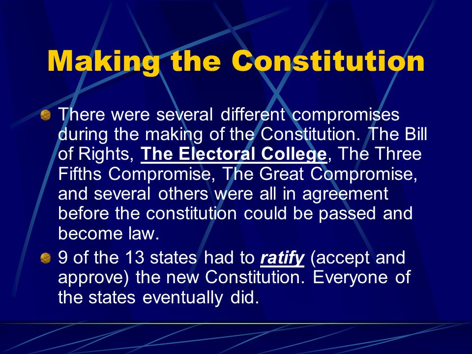Making the Constitution
