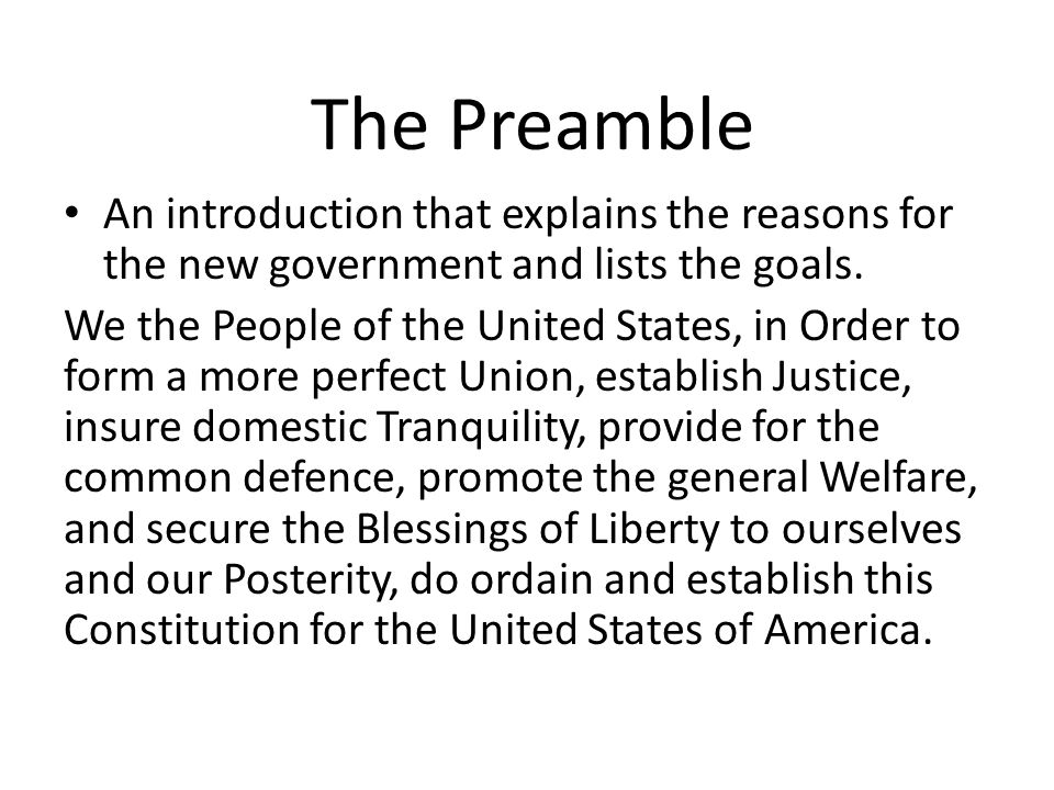 The Constitution Cont. Unit ppt download