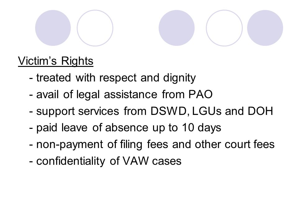 WOMEN AND THE LAW AND CHILDREN'S RIGHTS – THE PHILIPPINE ...