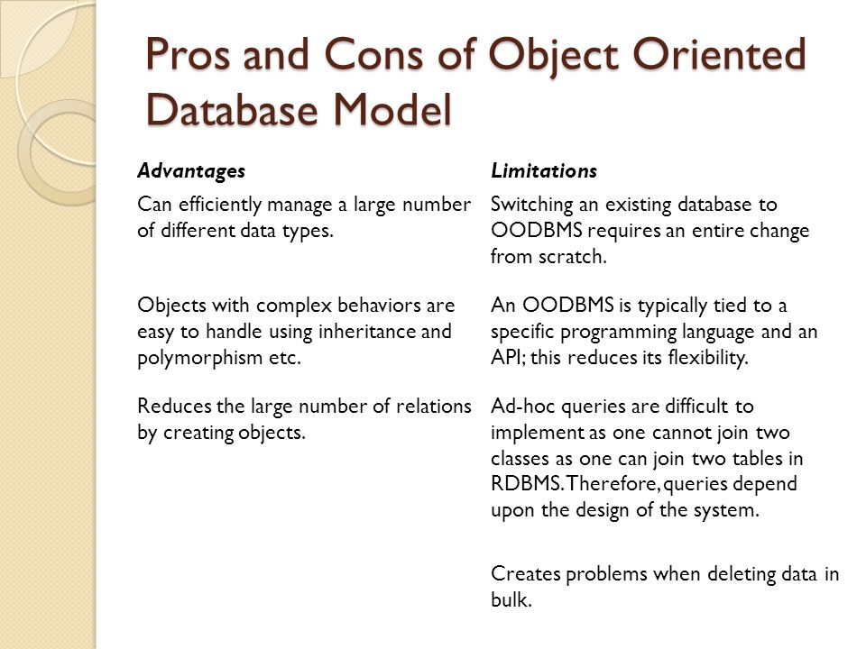 Evolution In Database Models Ppt Video Online Download
