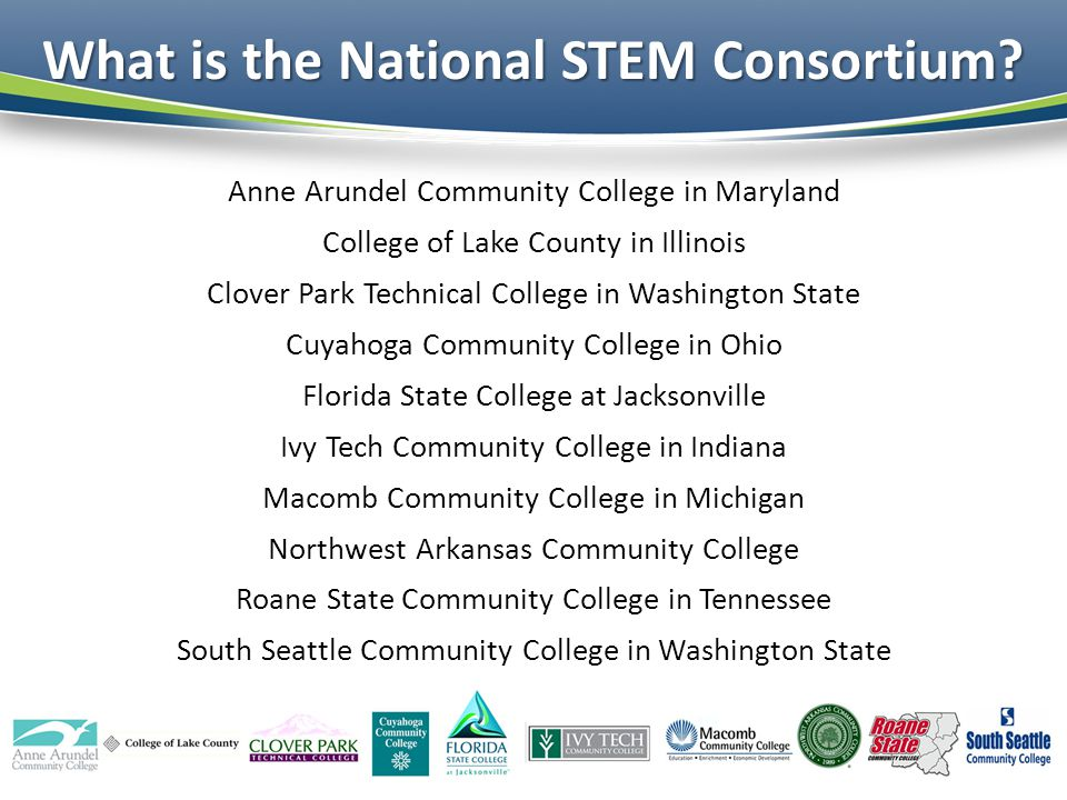 What is the National STEM Consortium