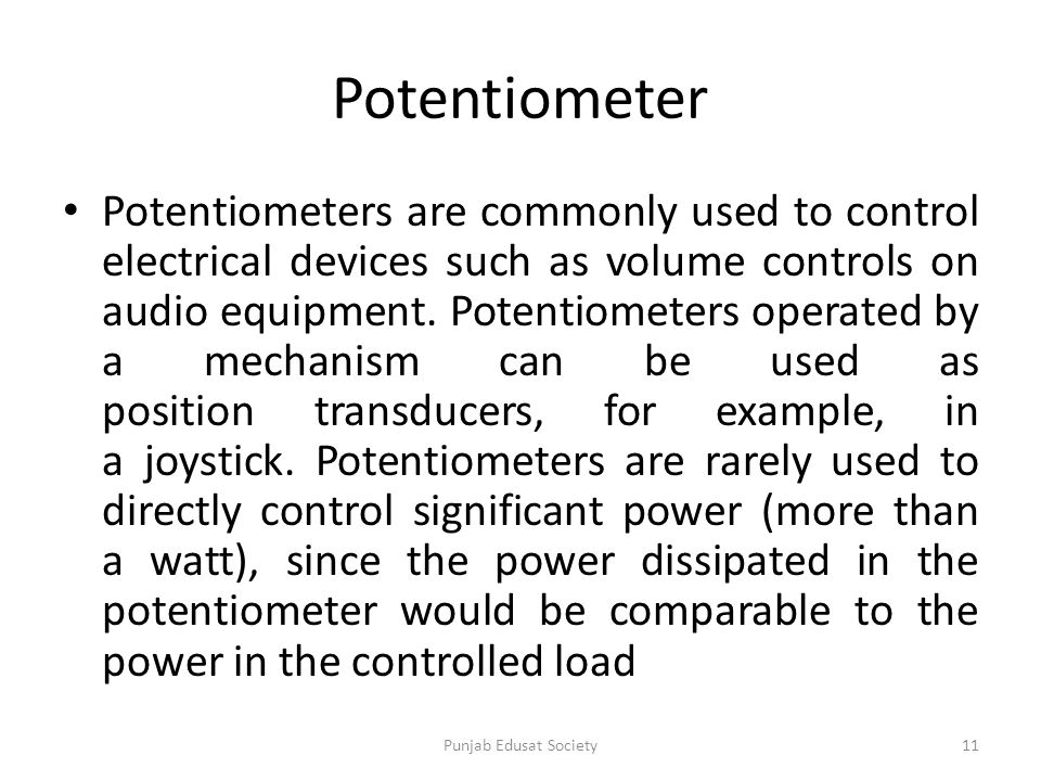 Dorable Potentiometer Symbols Model - Electrical and Wiring Diagram ...