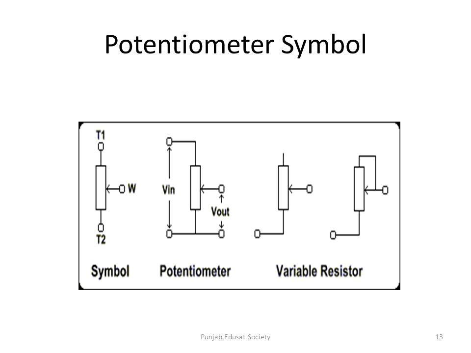 Ziemlich Potentiometer Symbol Fotos - Elektrische Schaltplan-Ideen ...