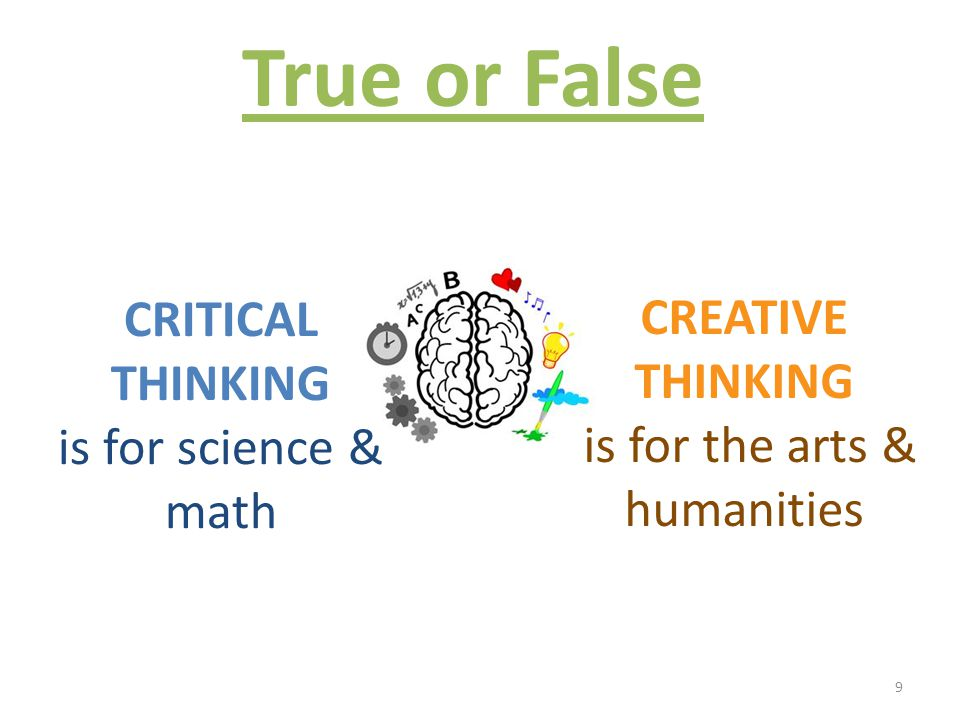 importance of critical and creative thinking to leaders Importance of formalized, ra-  critical thinking is neither creative thinking nor natural aptitude  all leaders must see critical thinking as a process driven.