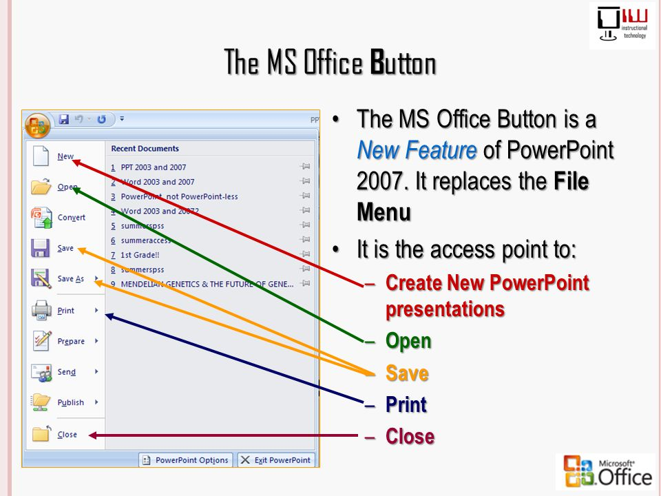 how to create a button in powerpoint