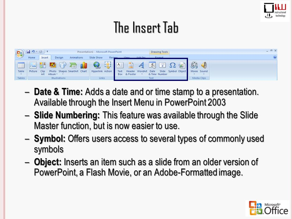 Powerpoint 2003 vs 2007 whats the difference ppt download 63 the toneelgroepblik Images