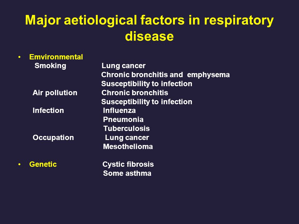 respiratory diseases emphysema essay