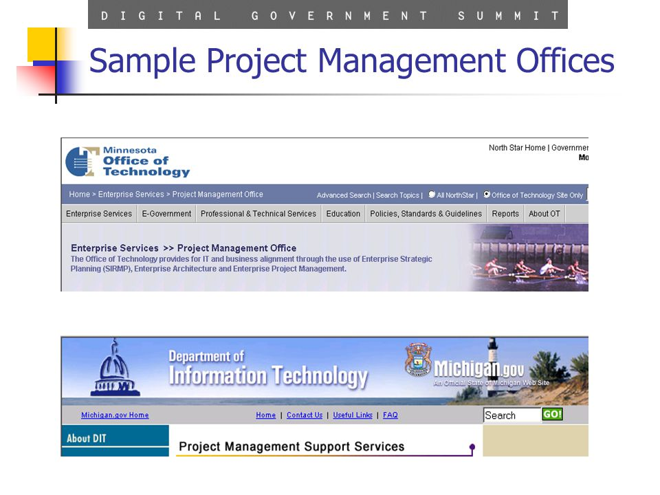 11 Sample Project Management Offices