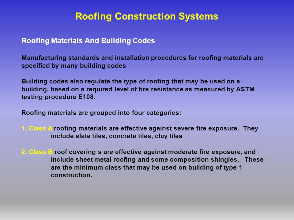 Roof Systems References Ppt Video Online Download
