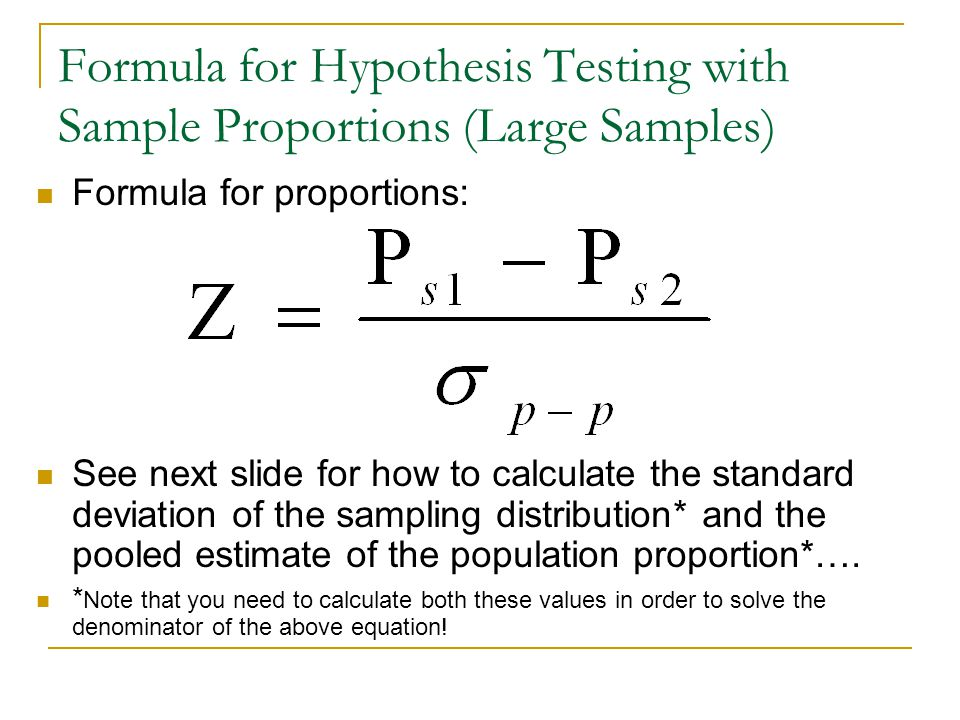 Hypothesis Testing Calculator Two Samples