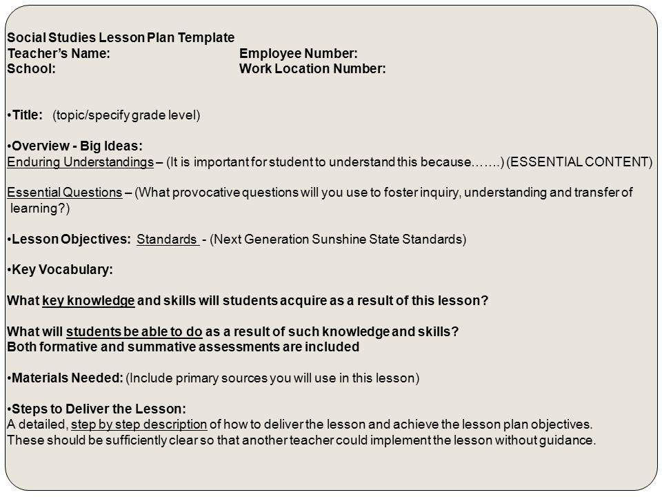 Effective Lesson Planning Ppt Video Online Download