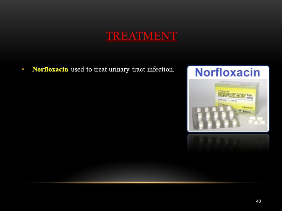 Norfloxacin Dosage For Urinary Tract Infection