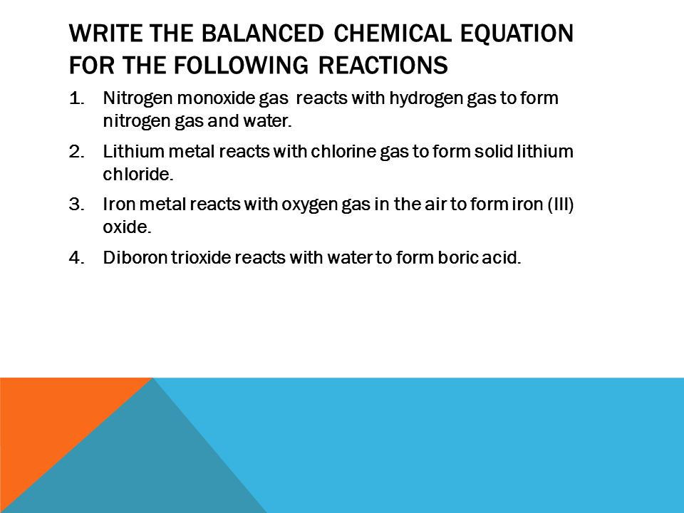 Chemical reactions: an introduction - ppt video online download